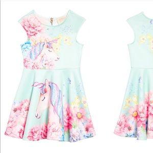 NEW • Hannah Banana • Unicorn Fit & Flare Dress 2T